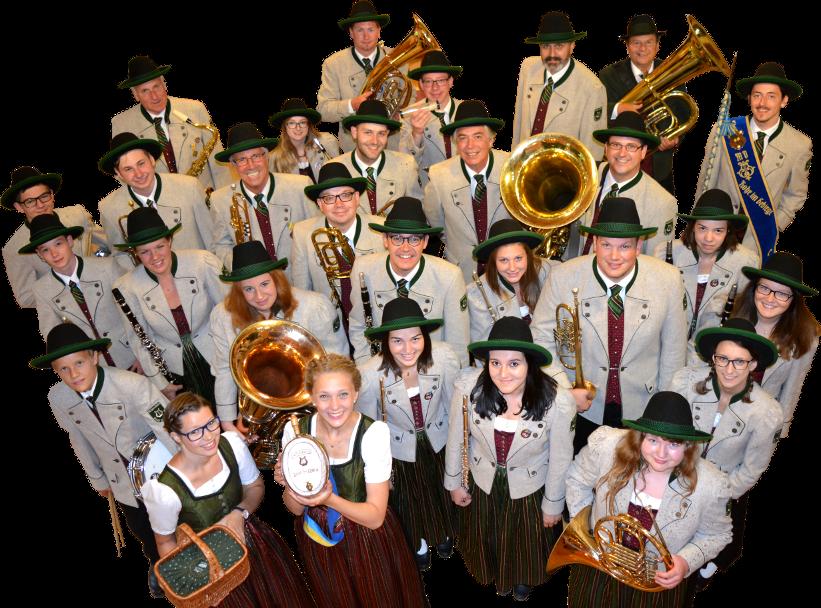 Gruppenfoto des Musikvereins